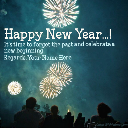 Happy New Year Best Wishes Messages With Name