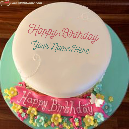 Beautiful Birthday Cake For Sister With Name Edit