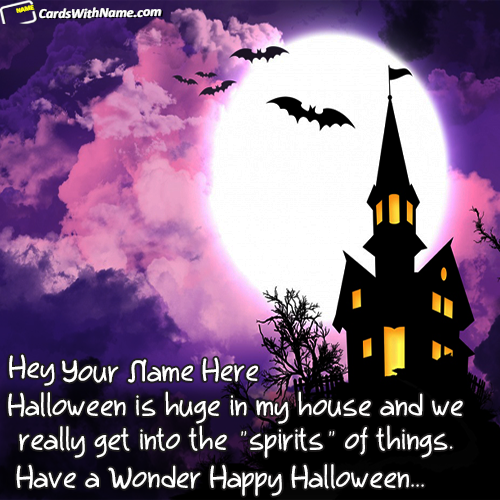 Best Halloween Quotes Images With Name