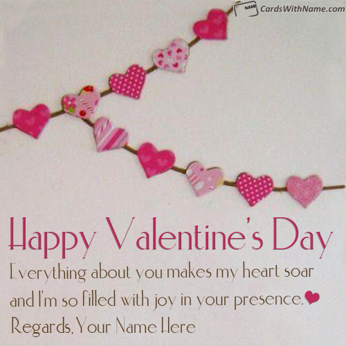 Best Happy Valentines Day Messages With Name Generator