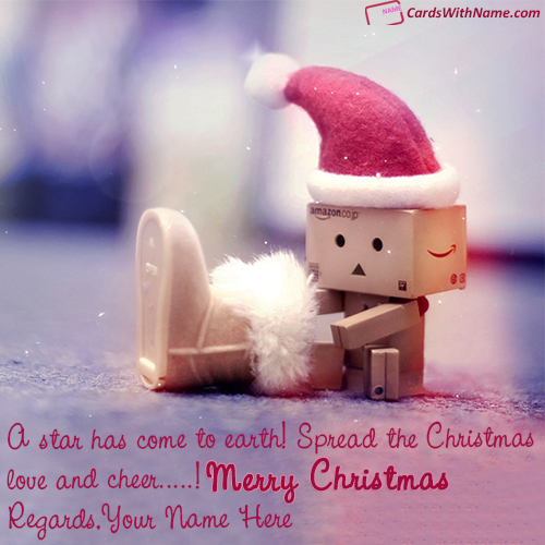 Christmas Wishes Quotes With Name Generator Online
