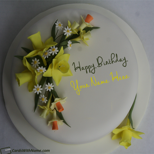 Create Online Birthday Cakes With Name Editor