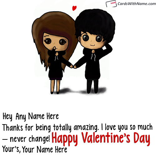 Cute Valentine Messages For Girlfriend With Name