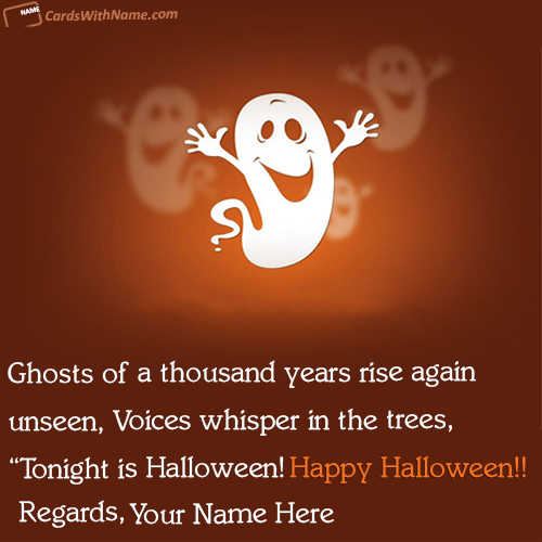 Funny Halloween Quotes Sayings Name Cards
