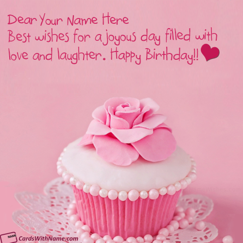 Happy Birthday Card For Daughter With Name Generator