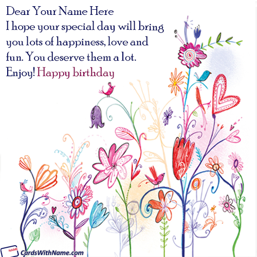 Happy Birthday Quotes For Brother Name Images