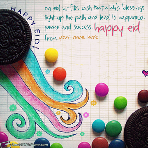 Happy Eid Wishes Quotes With Name Generator