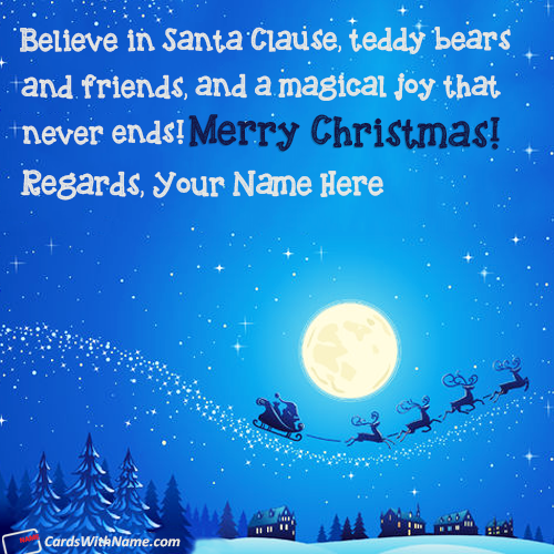 Images Of Short Christmas Sayings With Name
