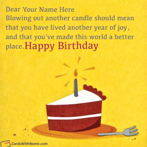 Inspirational Birthday Quotes Images With Name