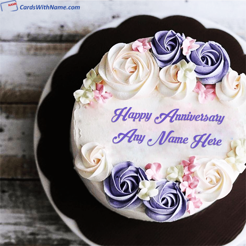 Latest Anniversary Wishes Cake Images Free Download