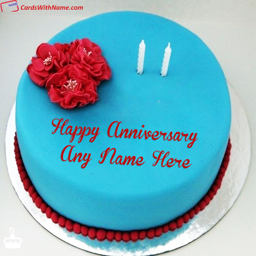 Marriage Anniversary Cake Images For Whatsapp With Name