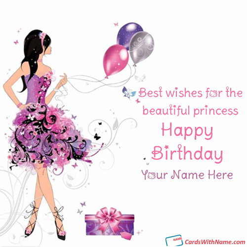 Printable Happy Birthday Cards For Girls With Name