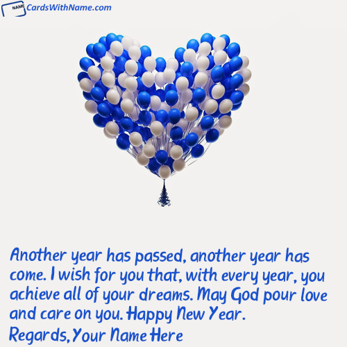 Short Happy New Year Wishes For Friends With Name