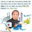 2018 Election Wishes Pakistan Muslim League N With Name