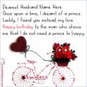 Birthday Wishes Quotes For Husband With Name