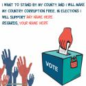 Free Online Support Generator For Election With Name