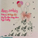 Name Birthday Wishes Cards For Princes Girls