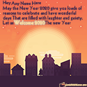 Welcome 2020 Wishes Messages With Name Generator