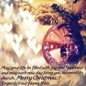 Wishing You Merry Christmas Quotes With Name Editing