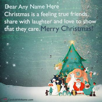 Beautiful Short Christmas Wishes Message With Name