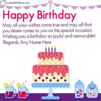 Best Wishes Happy Birthday Quotes With Name Editing