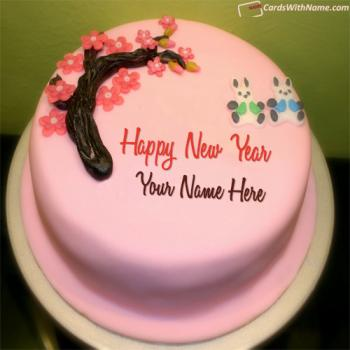 Best New Year Eve Cake With Name Maker