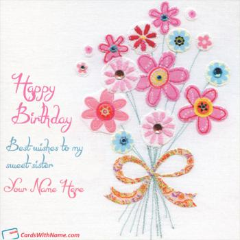 Happy Birthday Wishes Card With Name Generator 8
