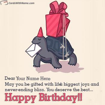 Create Happy Birthday Card With Name Free Download