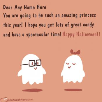 Cute Halloween Quotes Wishes With Name Images