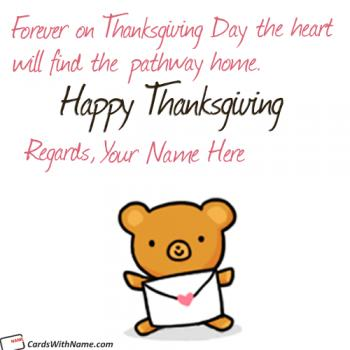 Cute Happy Thanksgiving Canada Images With Name