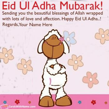 Eid Ul Adha Mubarak Wishes For Lover With Name