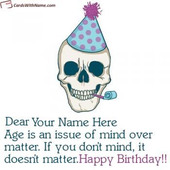 Funny Birthday Wishes For Men With Name Editing