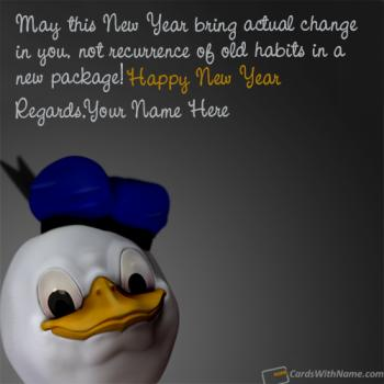 Funny New Year Resolutions And Status With Name