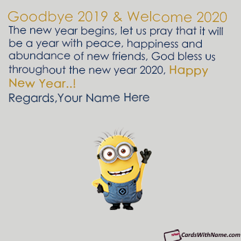 Goodbye 2018 Welcome 2019 Quotes Sayings With Name