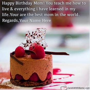 Happy Birthday Quotes For Mom With Name Images