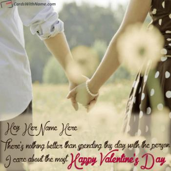 Happy Valentine Messages For Her With Name Generator