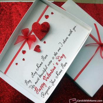 Happy Valentines Day Messages For Husband With Name