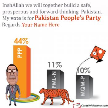 Pakistan People Party Election Support With Name