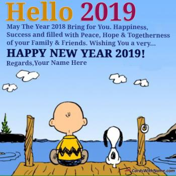 Say Hello 2019 Best Status Quotes With Name Editor