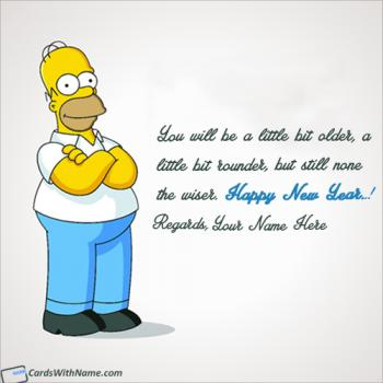Send Online Funny Happy New Year Messages With Name