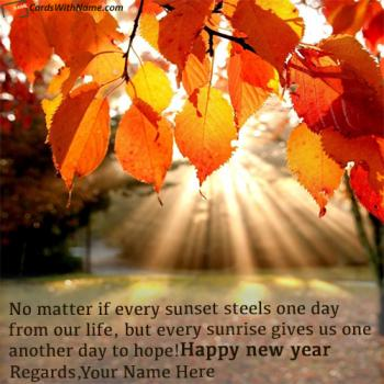 short new year greetings quotes with name generator