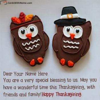 Thanksgiving Quotes For Friends And Family Name Pictures