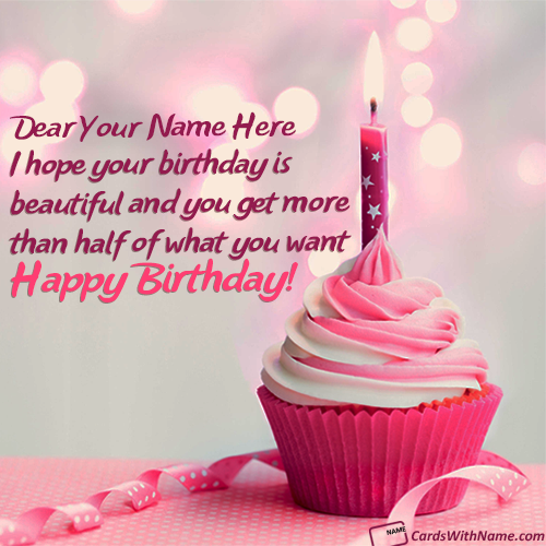 Printable Birthday Greeting Cards With Name 8
