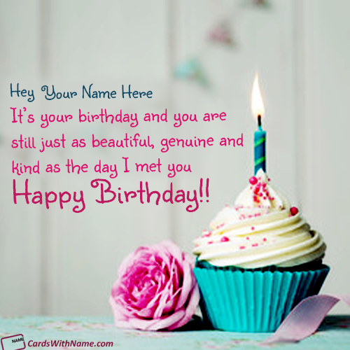 Printable Birthday Greeting Cards With Name