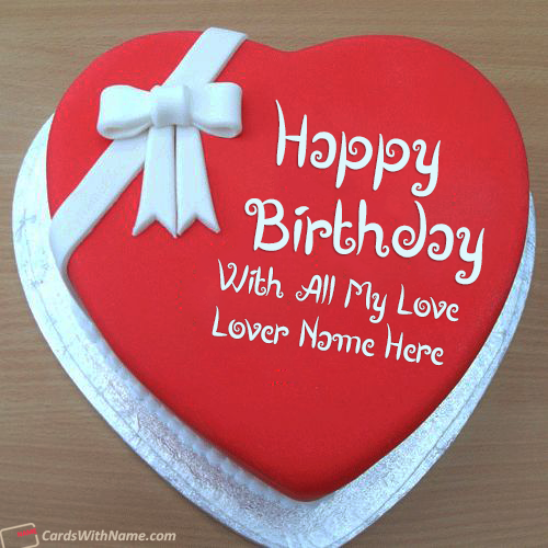 Online Lover Birthday Cake Name Generator