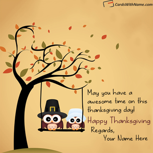 Thanksgiving wishes wording with name photo m4hsunfo